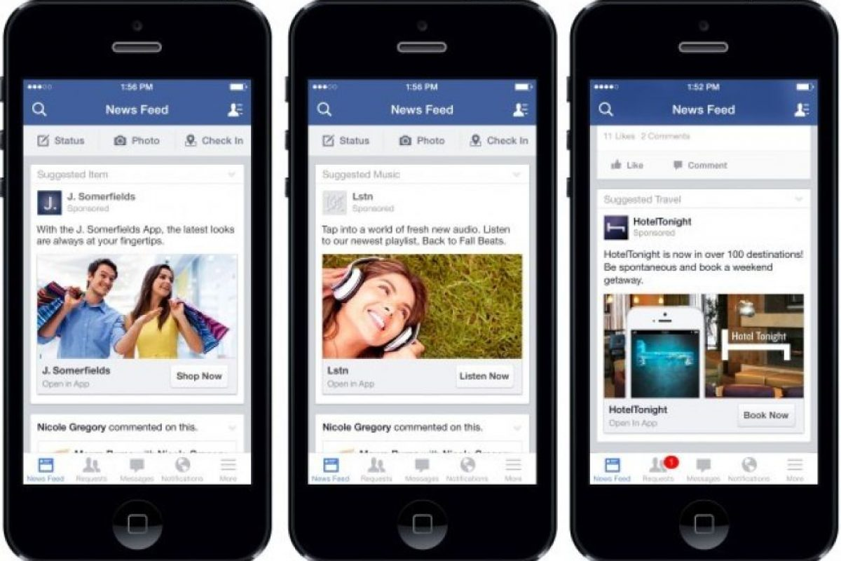La interfaz de la app móvil cambió. Foto:Facebook. Imagen Por: