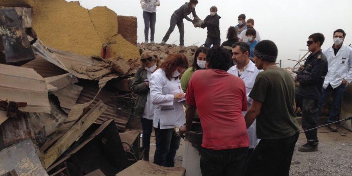 Teletón visita a sus pacientes en los cerros siniestrados de Valparaíso