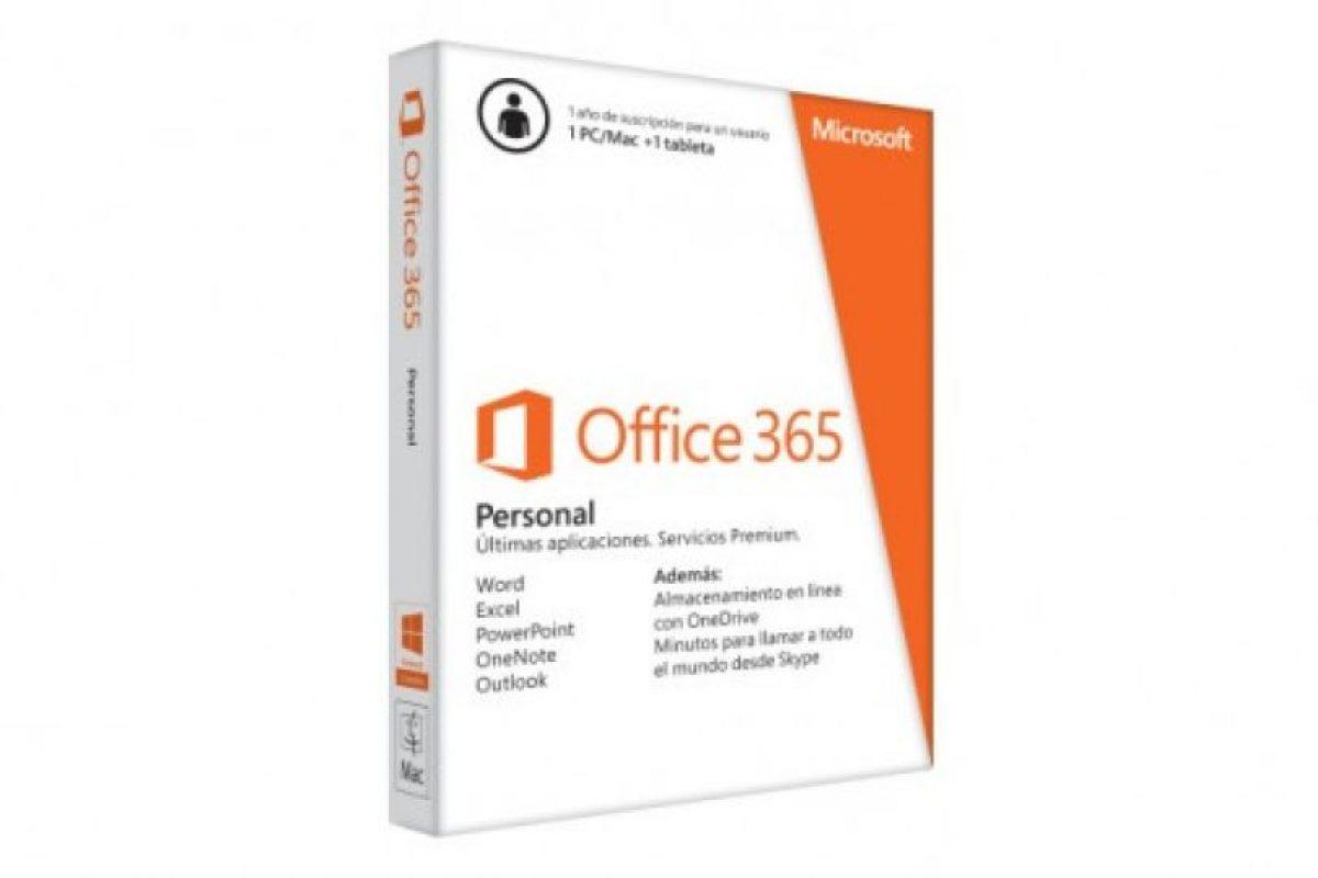 Office 365 personal Foto:Microsoft. Imagen Por: