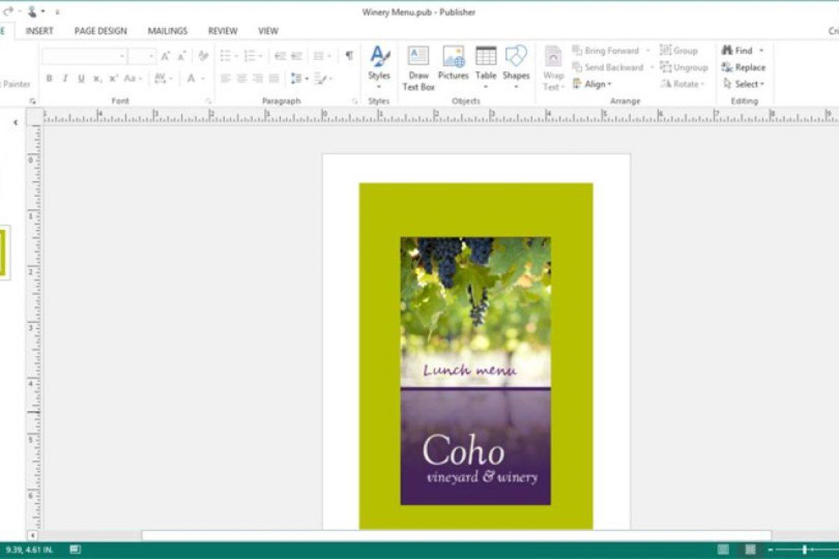 Publisher Foto:Microsoft. Imagen Por: