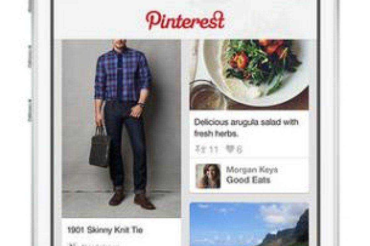 Pinterest no pasa del 5% Foto:Pinterest. Imagen Por: