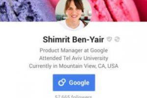 Google+ es otra red social que tampoco supera el 5% Foto:Google. Imagen Por: