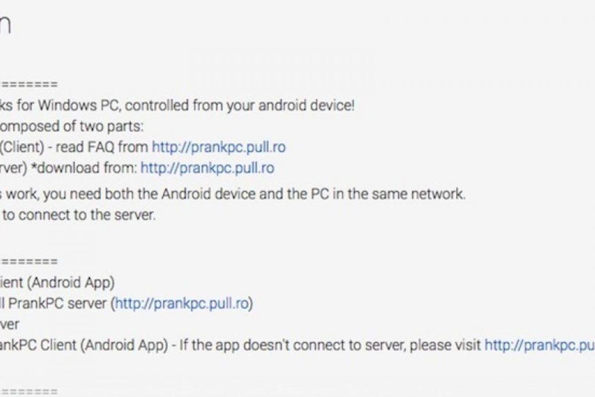 Foto:Google play store. Imagen Por: