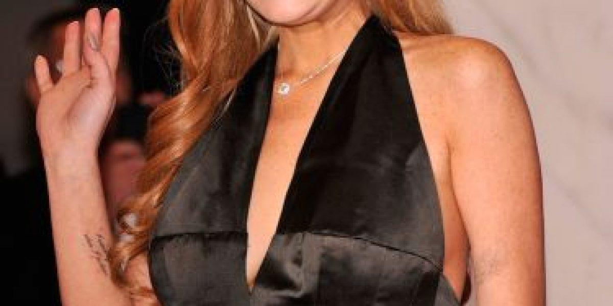 Lindsay Lohan se niega a hablar sobre la lista de sus compañeros sexuales