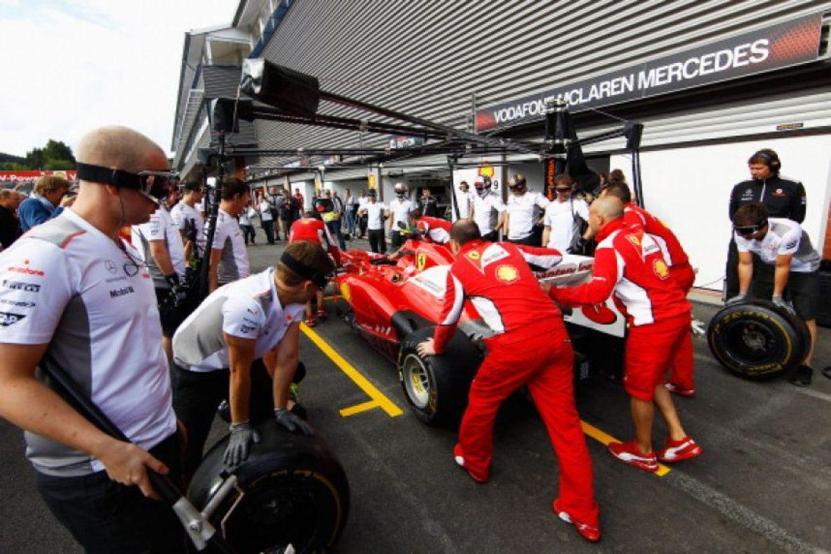 Grand Prix de Bélgica, 2012 Foto:Getty. Imagen Por: