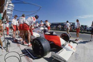 Grand Prix de Brasil,, 1985 Foto:Getty. Imagen Por: