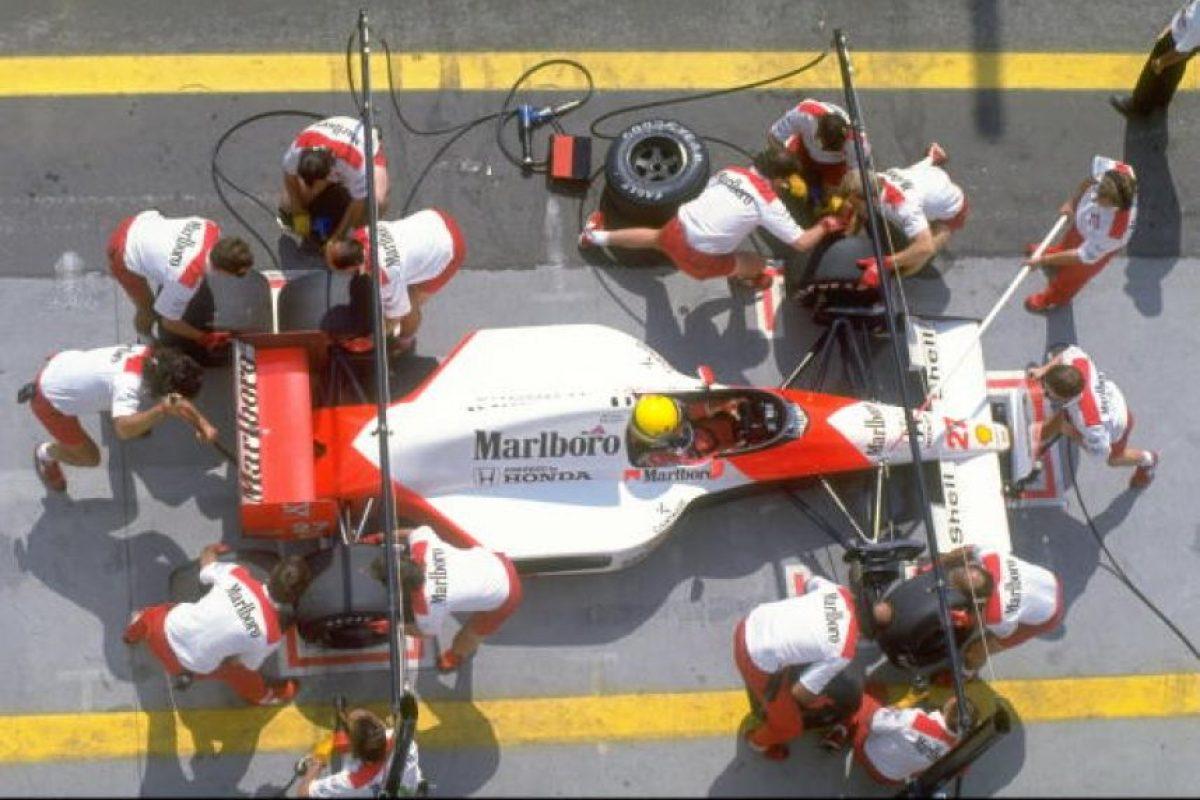 Gran Prix de Budapest, 1990 Foto:Getty. Imagen Por: