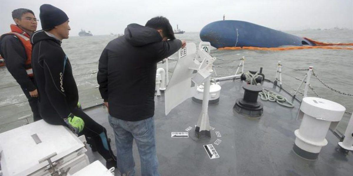 Mensajes entre víctimas y familiares del naufragio conmueven a Corea del Sur