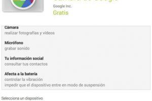 Así se instala la aplicación. Foto:Google Inc.. Imagen Por: