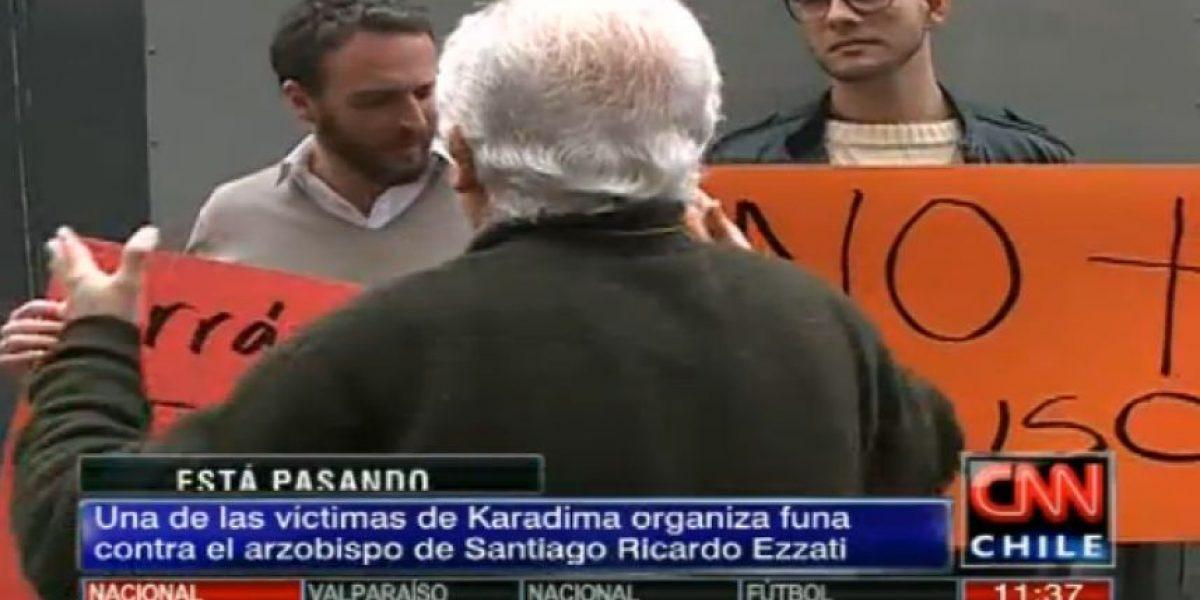 Jaime Parada y Luis Larraín son encarados en