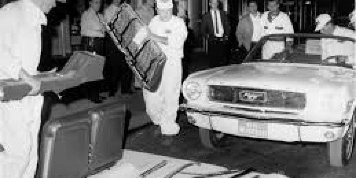 Así se armó el Ford Mustang del piso 86 del Empire State