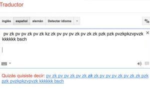 Para funcionar, debemos seleccionar la traducción de alemán a alemán Foto:Captura. Imagen Por: