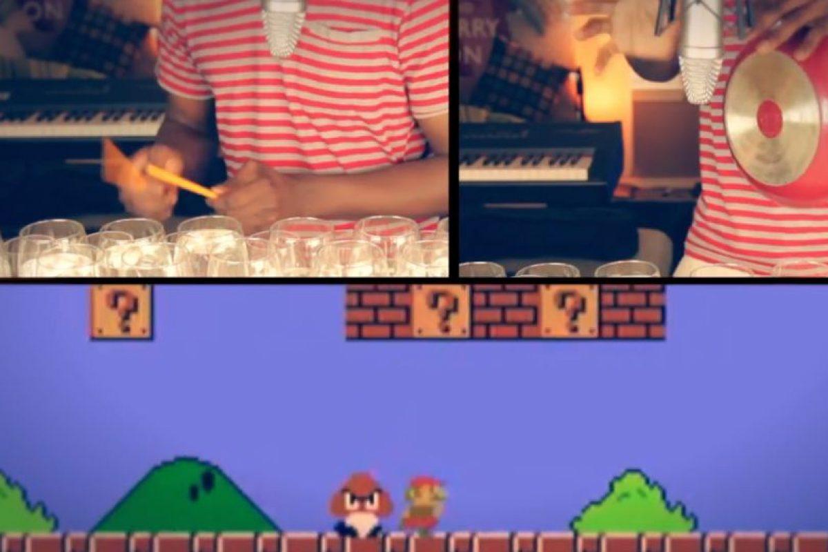 El tema de Mario es uno de los más reconocidos en el mundo Foto:Video captura Canal Dan Newbie. Imagen Por: