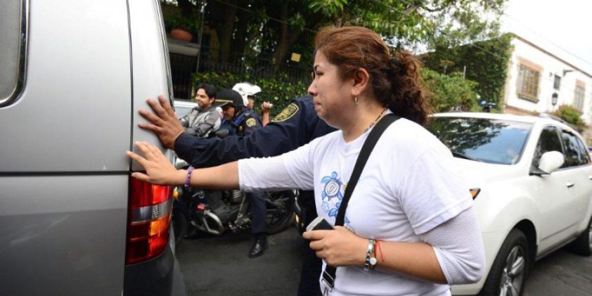 Fotos: Coche fúnebre sale de la residencia de Gabriel Gárcia Márquez
