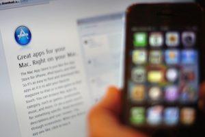 Los usuarios gastan más en la App Store. Foto:getty images. Imagen Por: