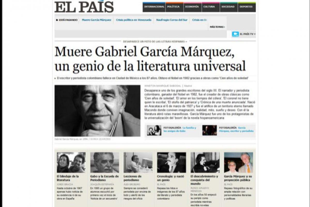 Foto:El País. Imagen Por: