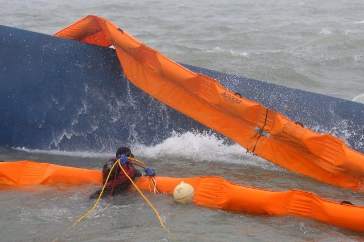 Así lucía el ferry accidentado el 16 de abril. Foto:AFP. Imagen Por: