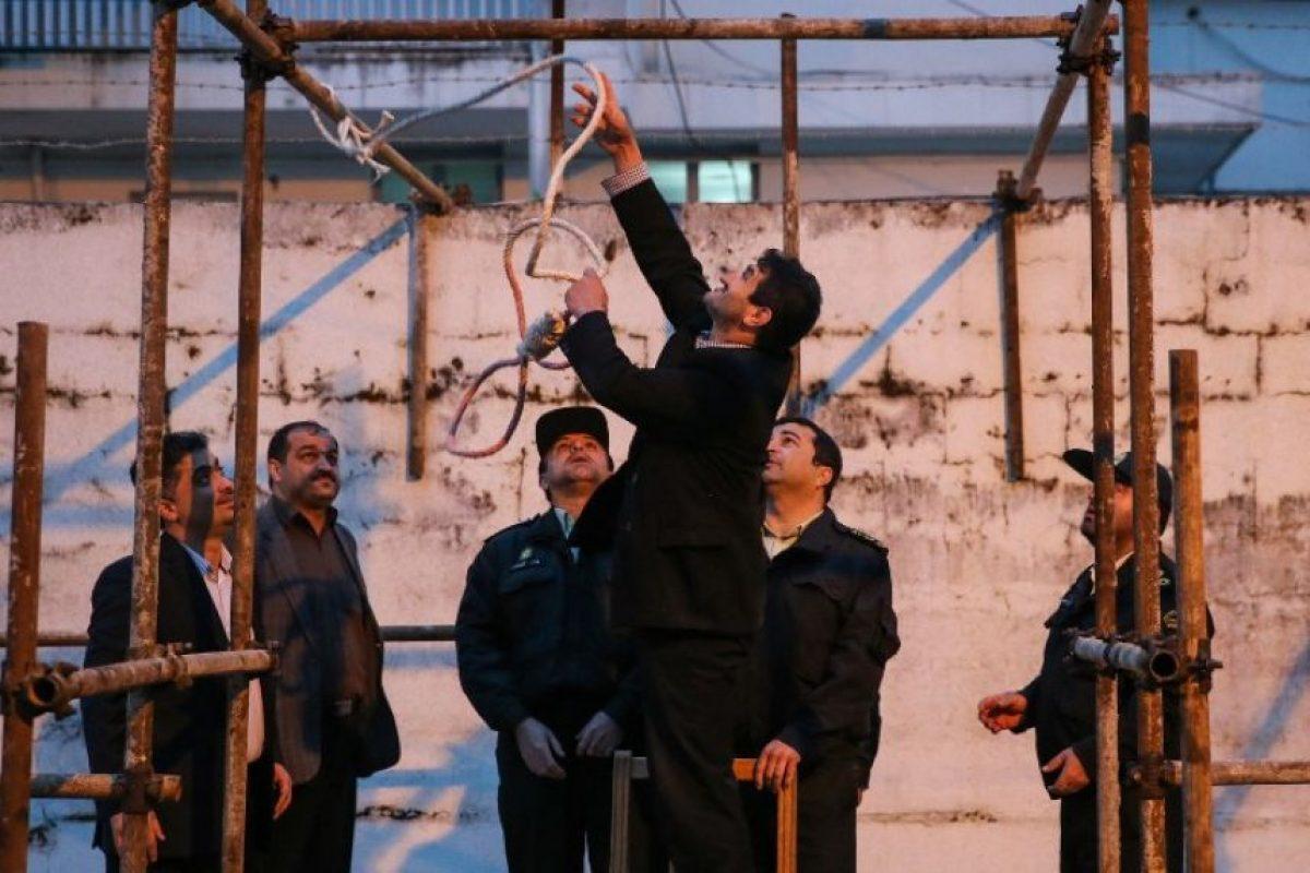 Las autoridades preparan la horca para ejecutar a Balal. Foto:AFP. Imagen Por: