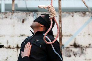 El hombre sentenciado está a punto de ser ejecutado. Foto:AFP. Imagen Por: