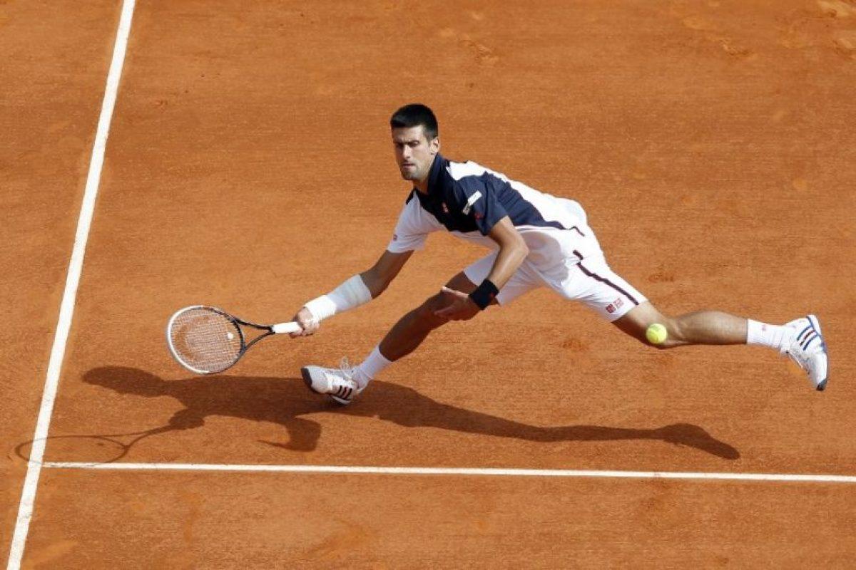 Novak Djokovic no pudo mostrar su mejor tenis. Foto:AFP. Imagen Por: