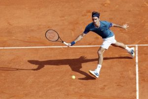 Federer llegaba hasta a los puntos complicados. Foto:AFP. Imagen Por: