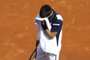La frustración de Djokovic. Foto:AFP. Imagen Por: