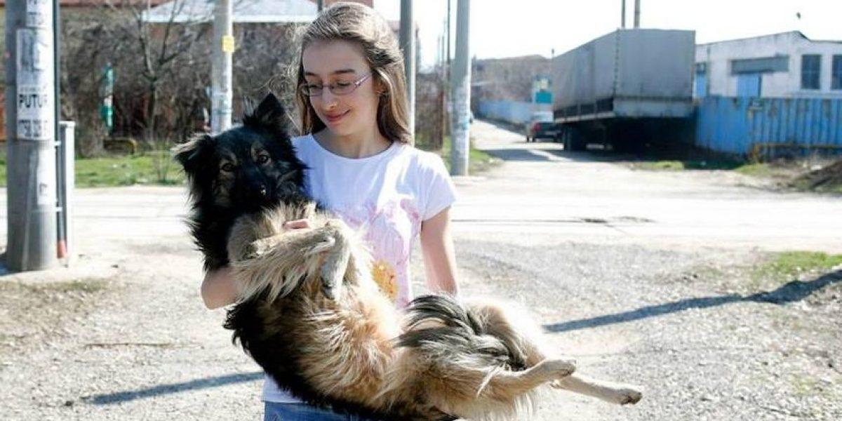 Fotos: La niña que utiliza Facebook para salvar perros