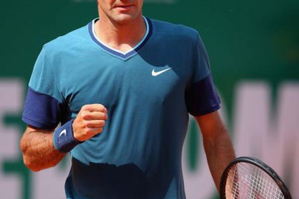 Roger tomando confianza en cada punto ganado. Foto:getty images. Imagen Por: