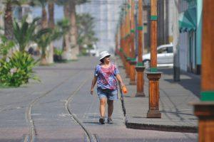 Foto:Agencia Uno / Gente prefiere descansar. Imagen Por: