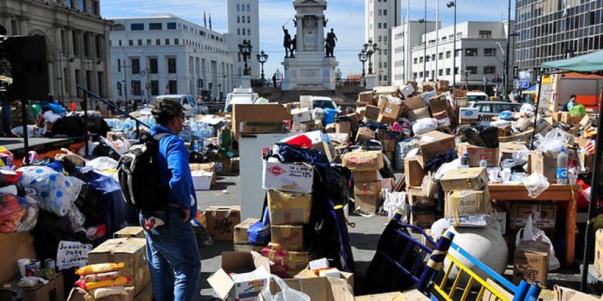 Armada prohíbe ingreso ayuda a Valparaíso salvo materiales construcción