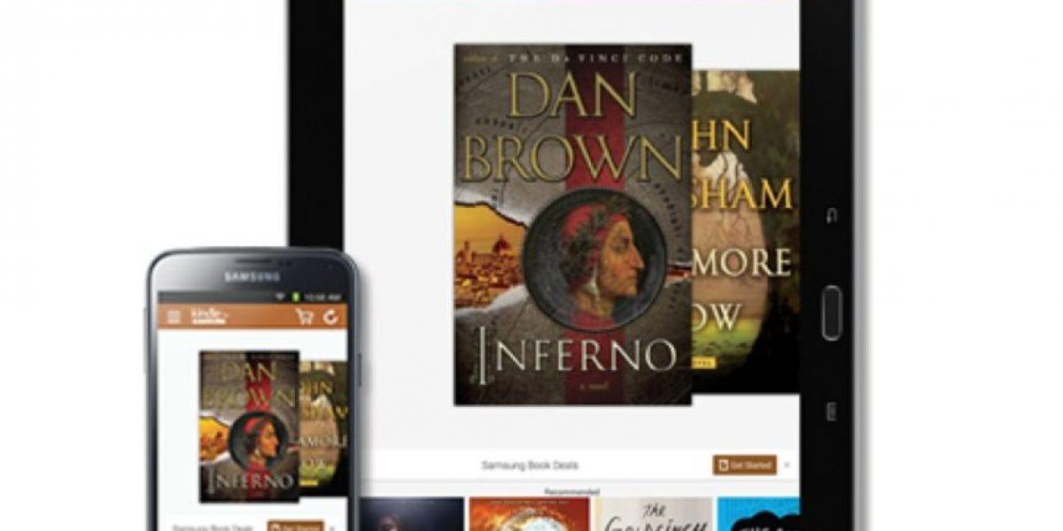 Amazon lanza su tienda Kindle para Samsung Galaxy