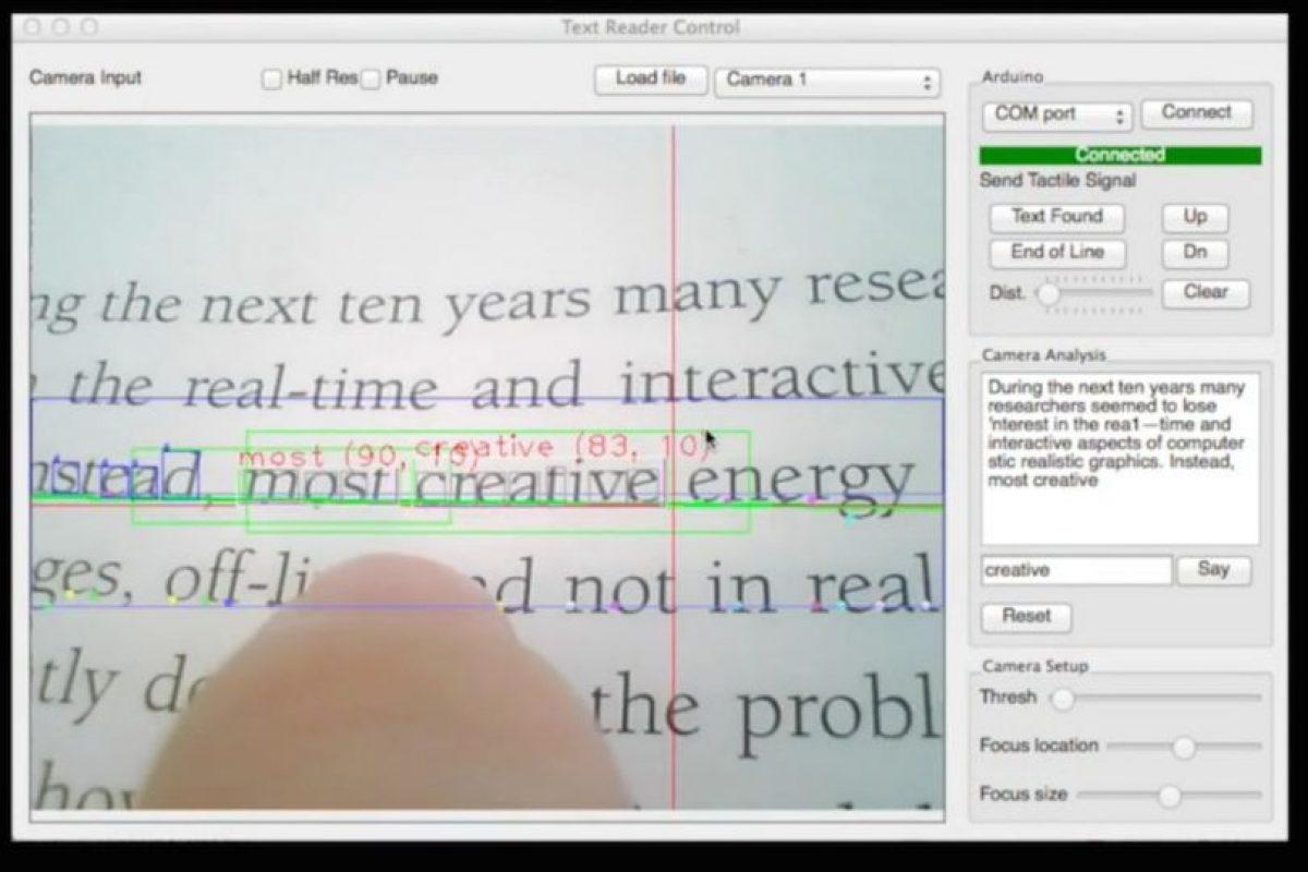 Detecta las palabras que siguen. Foto:Fluid Interfaces. Imagen Por: