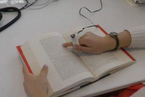 """""""FingerReader"""" es de un pequeño tamaño. Foto:FingerReader. Imagen Por:"""