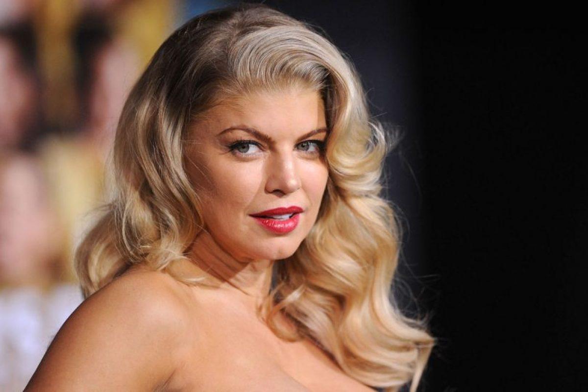 A Fergie se le critica su exceso de bótox. Foto: Getty. Imagen Por:
