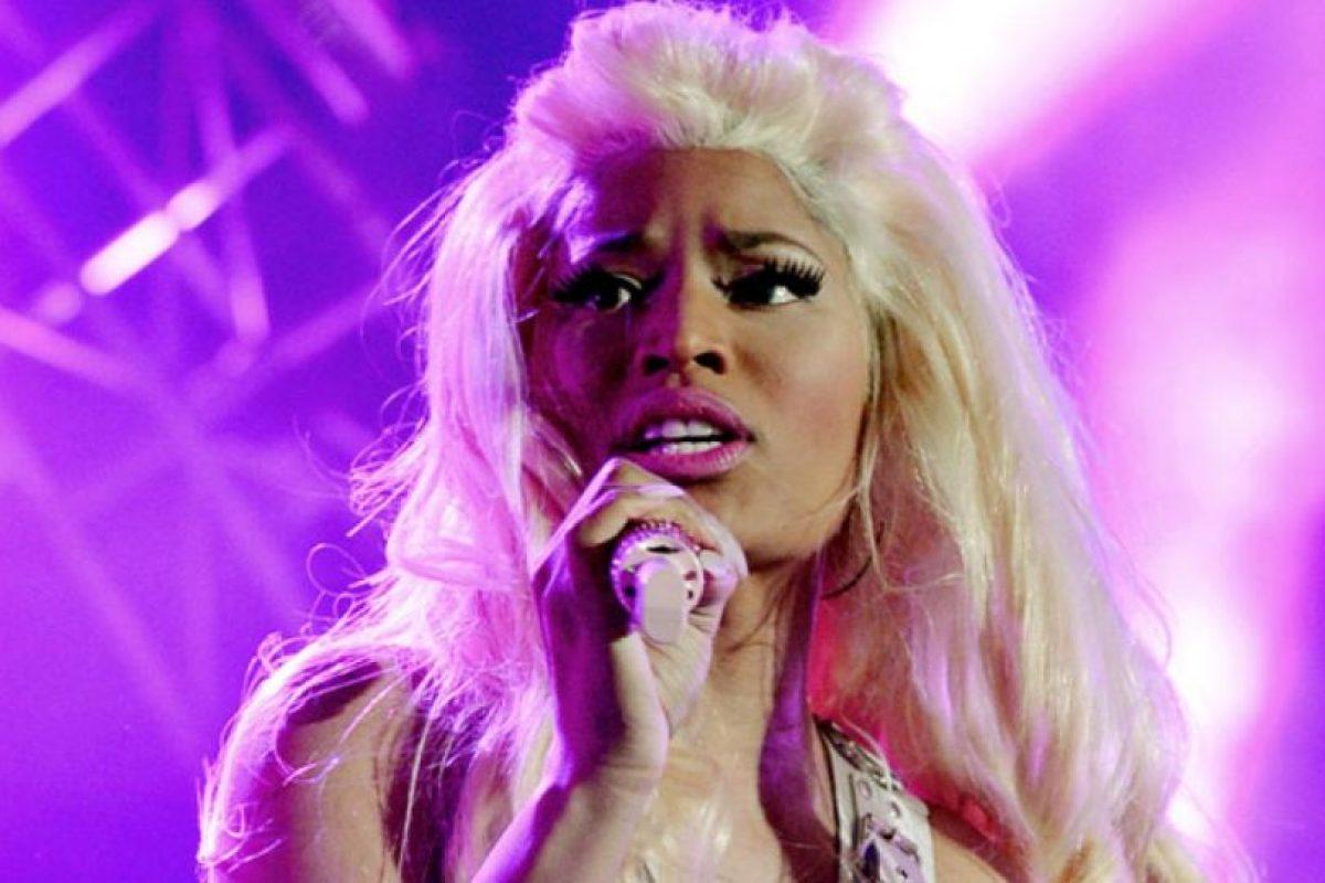 A Nicki Minaj se le critica su artificialidad. Foto: Getty. Imagen Por: