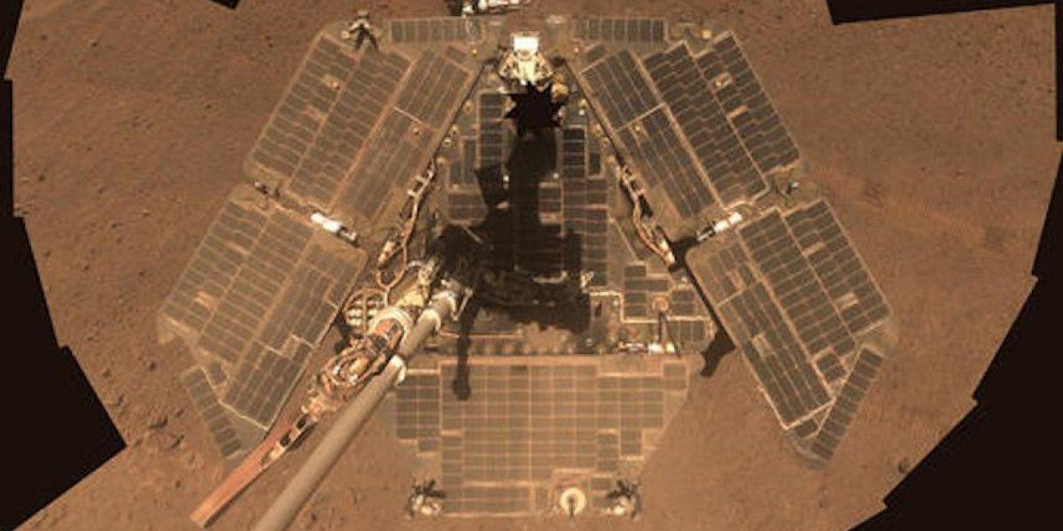 Fotos: Los selfies tomados desde Marte