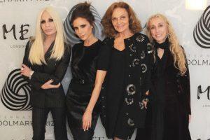 Sus nueas amigas favoritas son Donatella Versace y Diane Von Fursternberg, entre otras. Foto: Getty. Imagen Por: