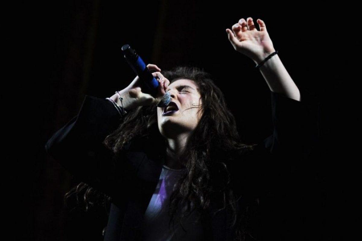 Lorde Foto:AFP. Imagen Por: