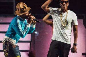 Pharrell Williiams y Jay Z Foto:AFP. Imagen Por:
