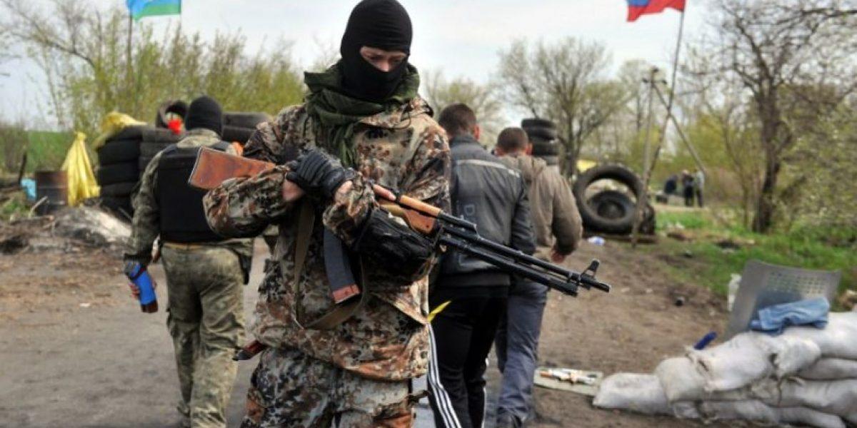 Mueren tres militantes pro-rusos tras ataque en Ucrania