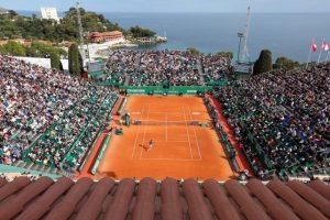 El escenario del Masters 1000 de Montecarlo. Foto:AFP. Imagen Por: