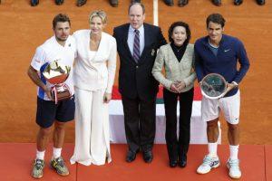 Los finalistas y los Príncipes de Montecarlo. Foto:AFP. Imagen Por: