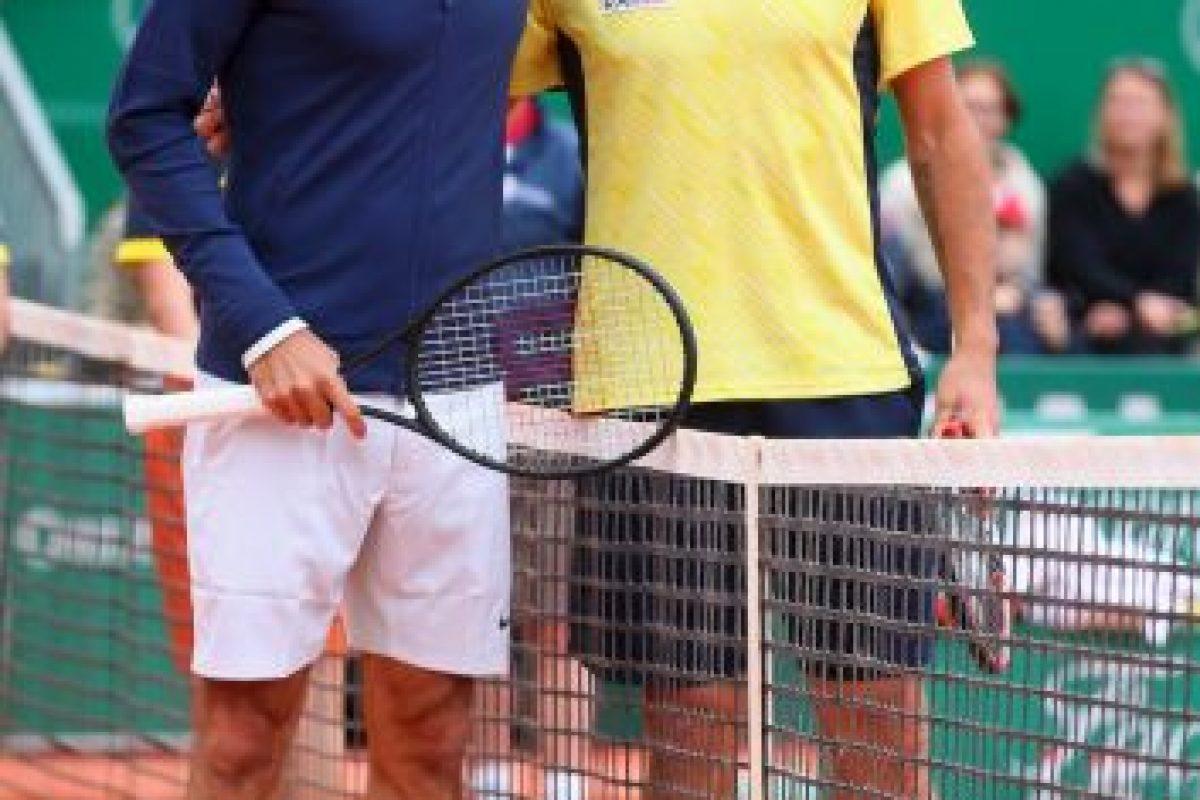 Federer y Wawrinka antes del partido. Foto:getty images. Imagen Por: