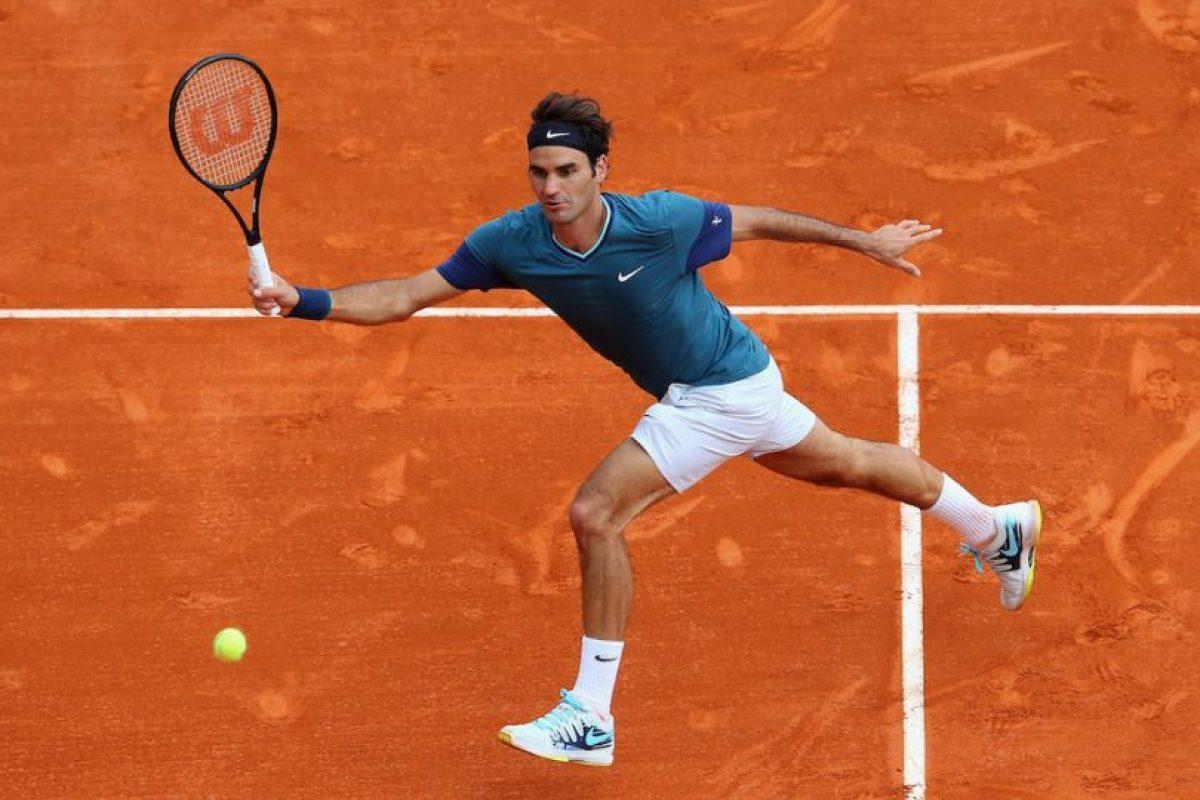 Roger corriendo la cancha. Foto:getty images. Imagen Por: