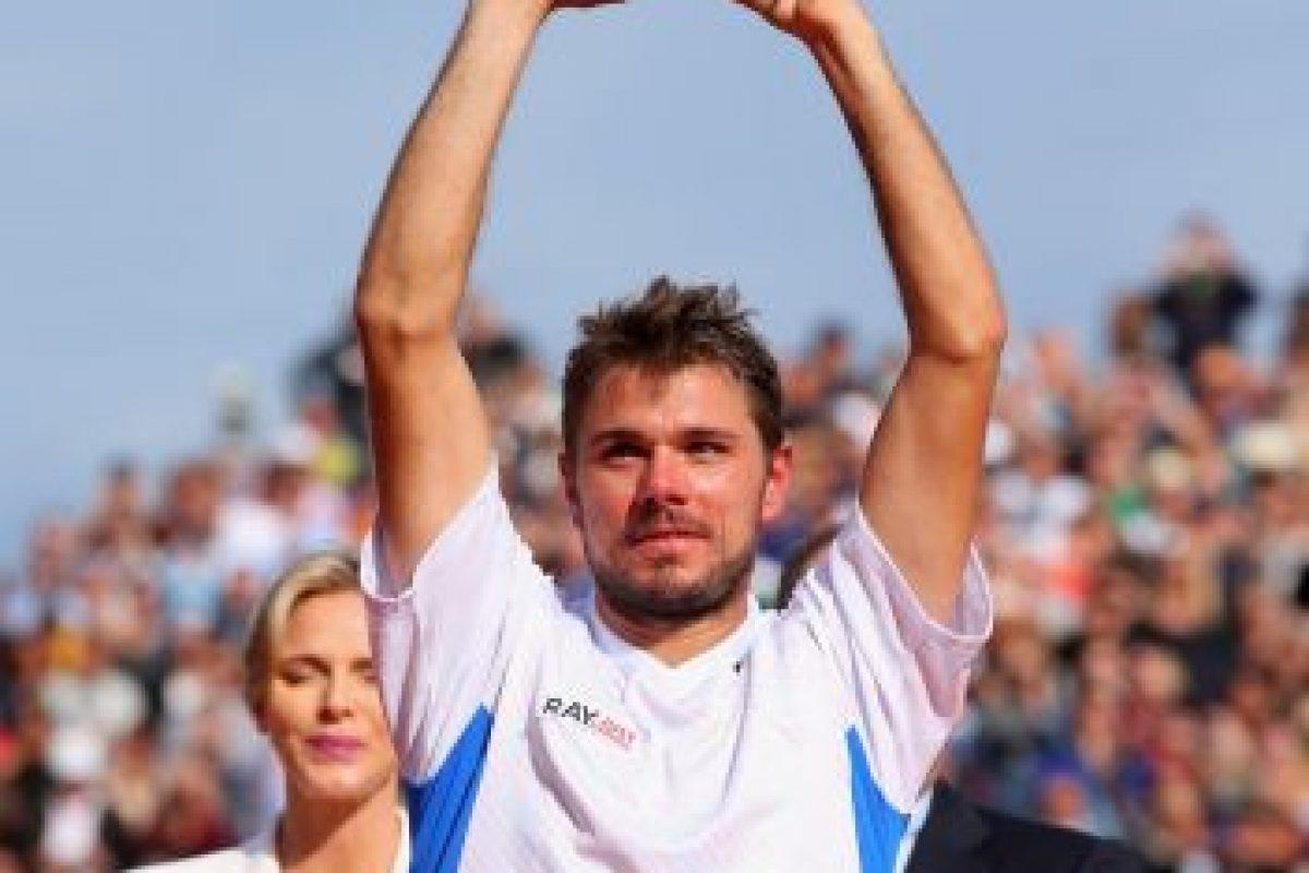 Stanislas Wawrinka orgulloso de ganar. Foto:getty images. Imagen Por: