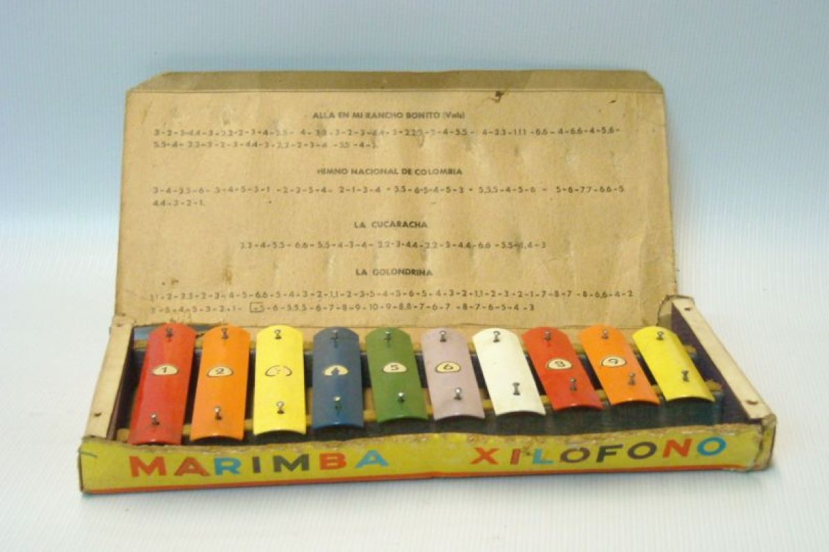 ¿Qué tal este xilófono? Foto: Museo del Juguete en Colombia. Imagen Por: