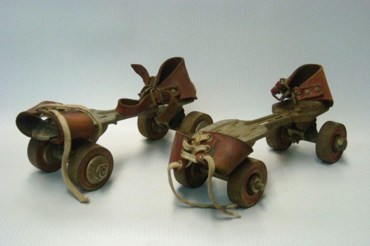 Pocos tuvieron estos patines, porque para los 90 comenzaba el furor por los patines en línea. Foto: Museo del Juguete en Colombia. Imagen Por: