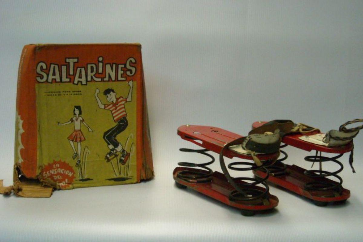 Sí, los saltrines existieron. Foto: Museo del Juguete en Colombia. Imagen Por: