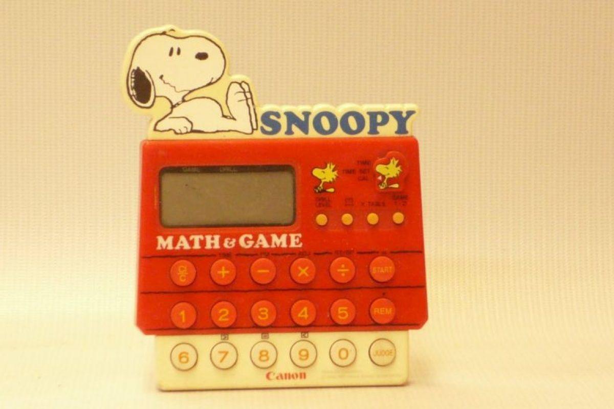 Calculadora de Snoopy. Foto: Museo del Juguete en Colombia. Imagen Por: