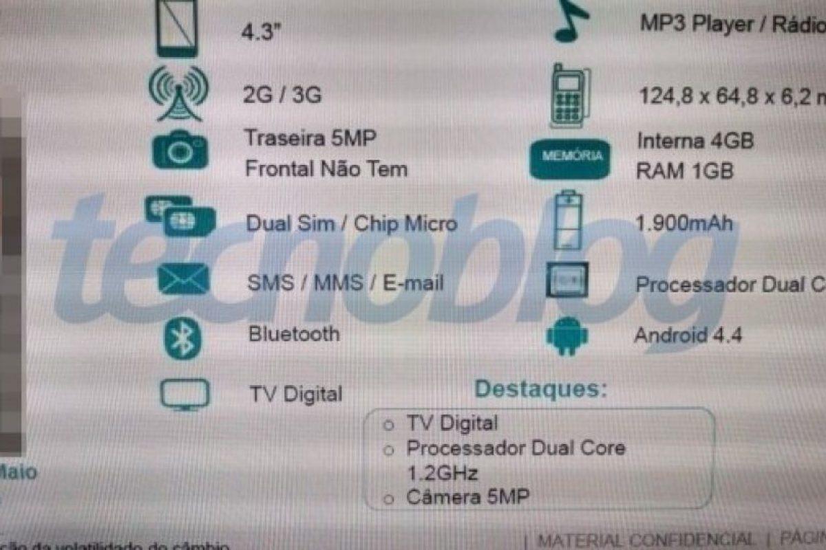 Las posibles especificaciones del Moto E. Foto:tecnoblog.net. Imagen Por: